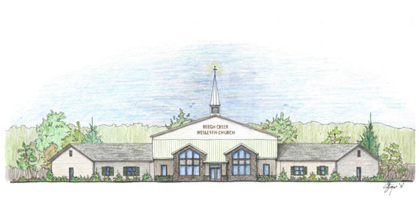 BCW Church Front Elevation - Feb. 2011